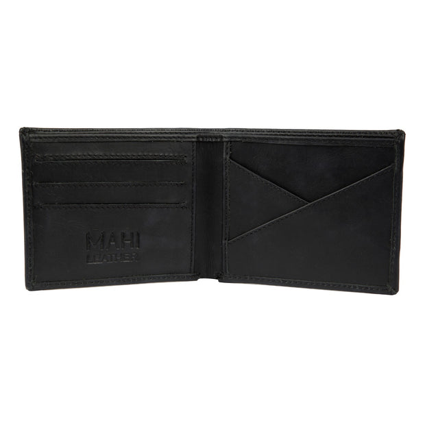 The Classic Black Leather Wallet by MAHI Leather - piper-and-dune - Leather Goods