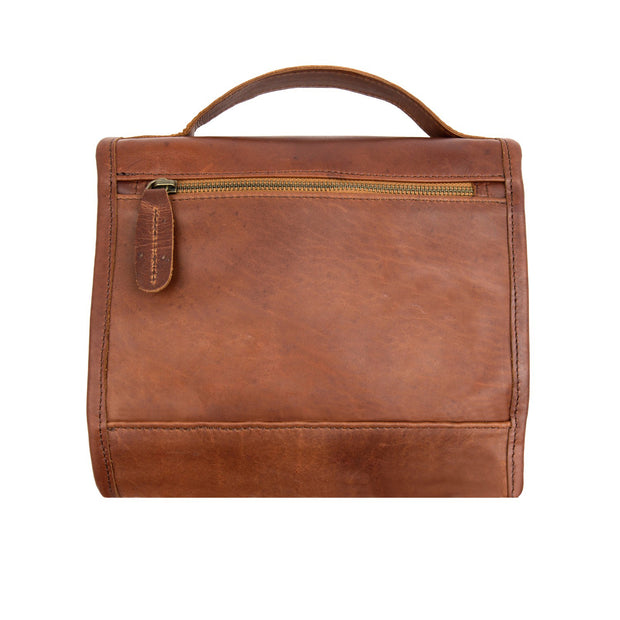 The Harvard Leather Hanging Washbag by MAHI Leather - piper-and-dune - Leather Goods