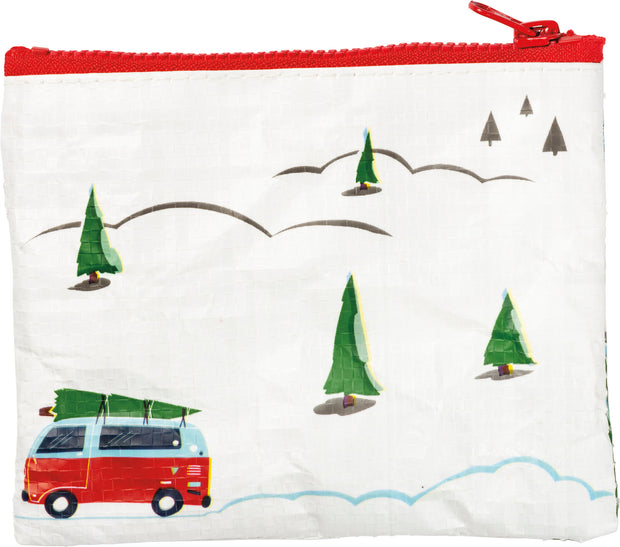 Truck and Tree - Merry Christmas Zipper Pouch
