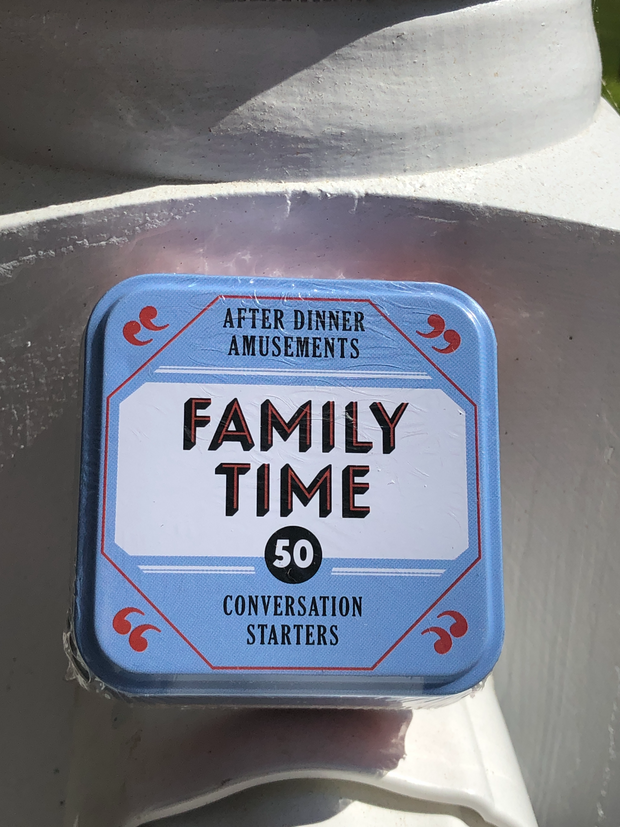 After Dinner Amusements: 50 Conversation Starters for Families- Options