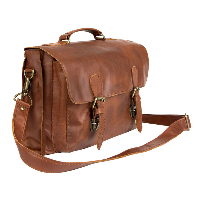 Leather Messenger Bag by MAHI Leather - piper-and-dune - Leather Goods