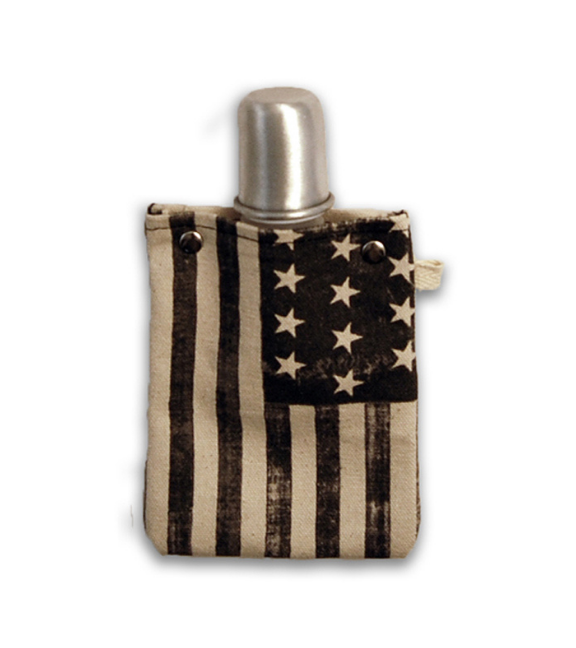 Americana Tote + able Flask + Shot Glass