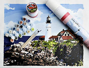 Leading Lighthouse Paint-By-Number Kit