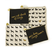 Pet Canvas Pouches - Set of 2 - piper-and-dune - Women's Accessories