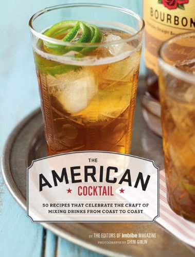 The American Cocktail - Hardback Recipe Book