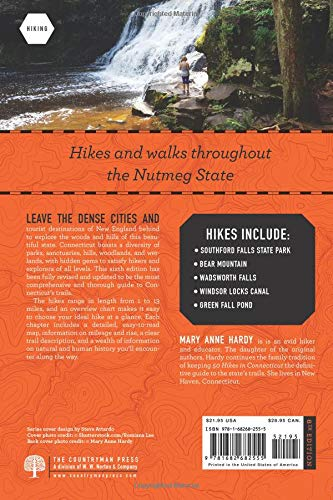 50 Hikes In Connecticut