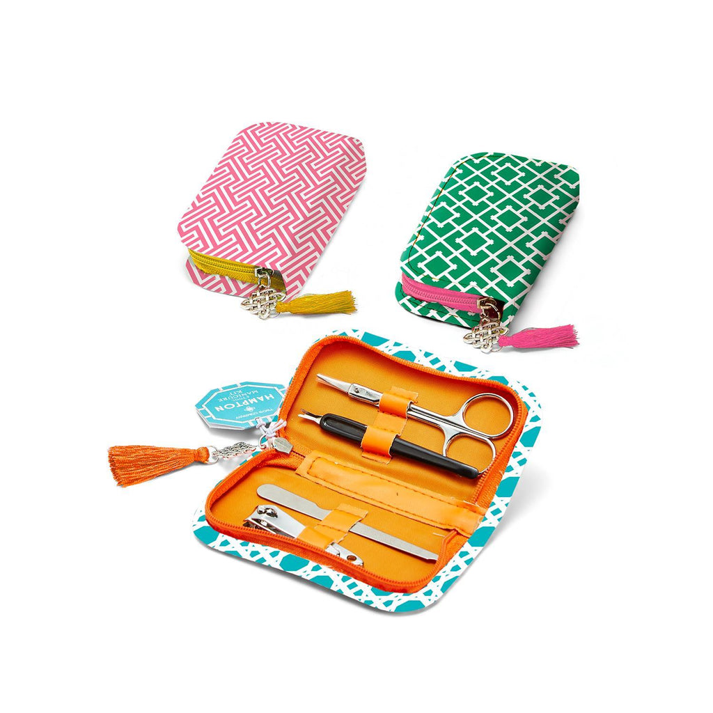 5pc. Manicure Kit - Available in 3 Colors