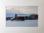 Hollis Barn Print - piper-and-dune - Home Goods