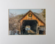 Woodstock Covered Bridge Print - piper-and-dune - Home Goods
