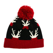 Festive Reindeer Winter Hats - 3 Options