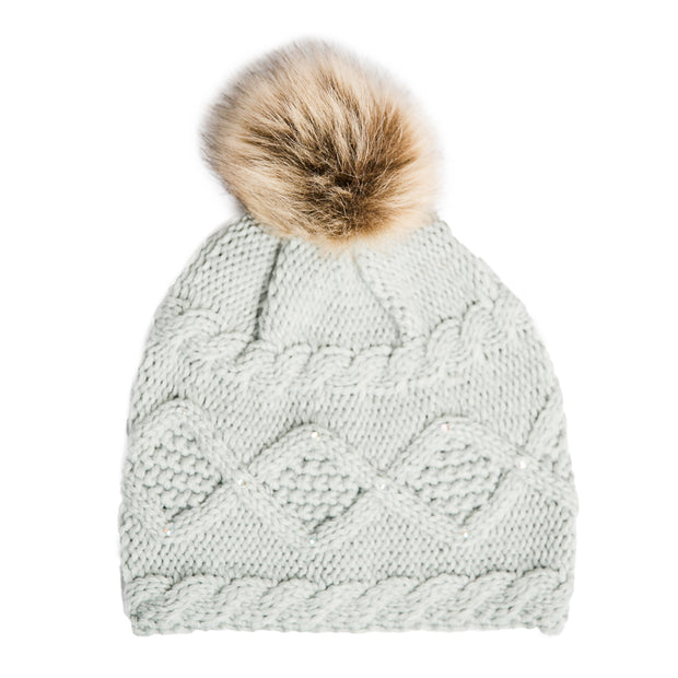 Ella Winter Hat with Pom Pom - 3 Colors