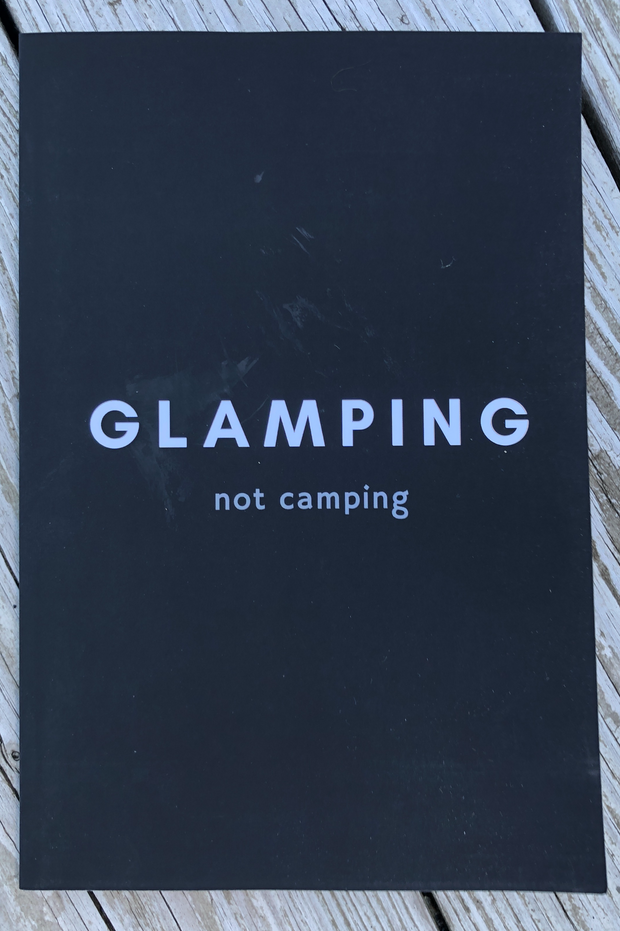Glamping Not Camping - Notebook
