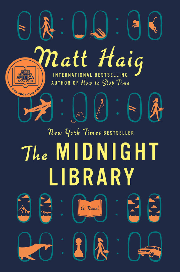 The Midnight Library: A Novel - Hardcover
