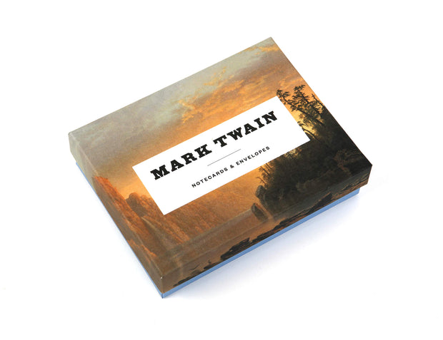 Mark Twain Notecards: 12 Literary Notecards with Envelopes