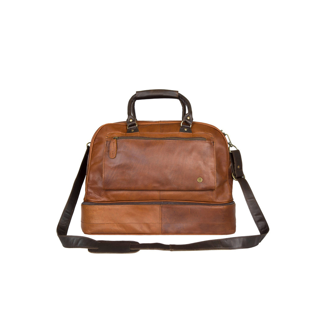 The Leather Raleigh Holdall by Mahi Leather - piper-and-dune - Leather Goods