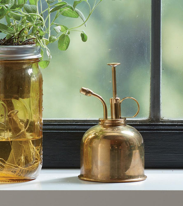 Brass Plant Mister - piper-and-dune - Home Goods