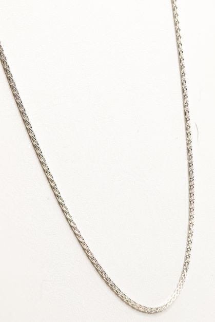 "Sterling Silver 26"" Spiga Chain Necklace 1.15MM - piper-and-dune - Jewelry"