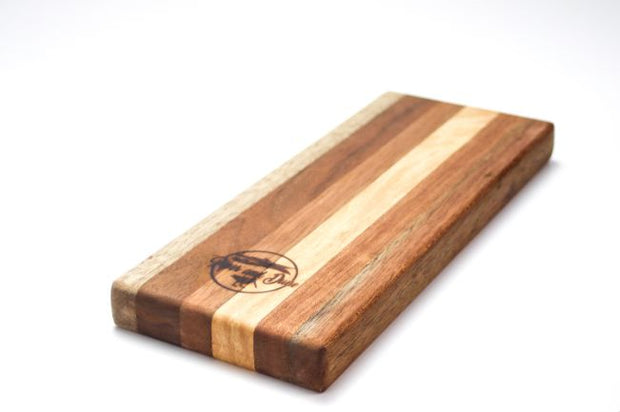 Striped Wood Cutting Board - piper-and-dune - Home Goods