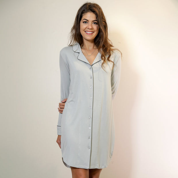 Women's Boyfriend Nightshirt - 2 Colors/S-XL