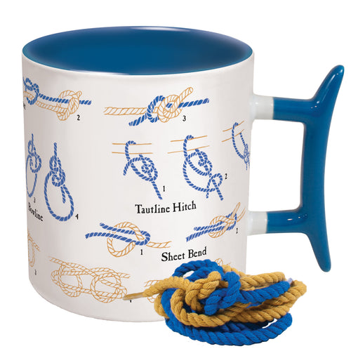 10oz. Mug - Learn How to Tie Knots - piper-and-dune - Kitchen