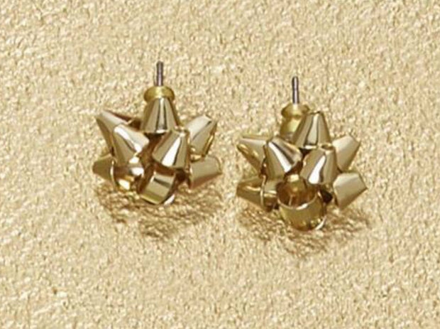 Gift Bow Stud Earrings Asst 4 Colors - piper-and-dune - Jewelry