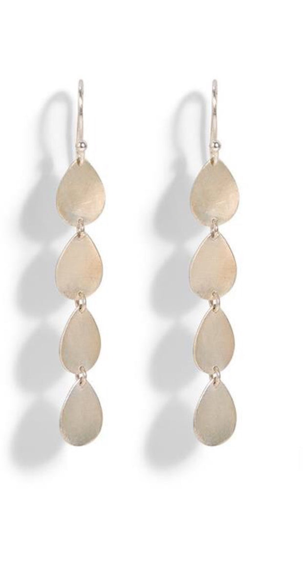 Teardrop Linear Earrings - 3 Colors - piper-and-dune - Jewelry