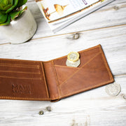The Classic Brown Leather Wallet by MAHI Leather - piper-and-dune - Leather Goods