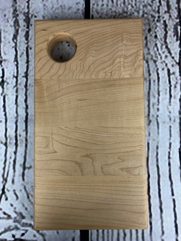 Handcrafted Hard Maple Cheese Board