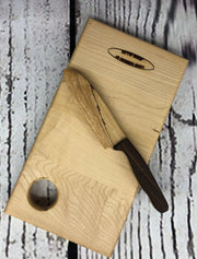Hand Carved Cheese Knives
