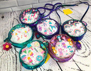 Kids Iridescent Crossbody Purse - 6 Styles Available