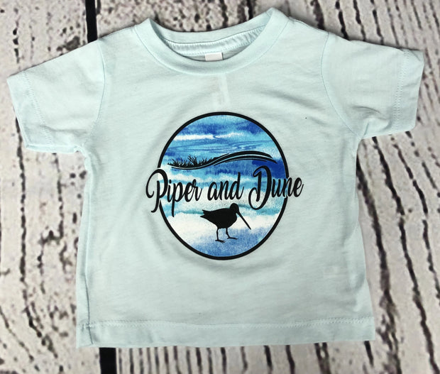 Piper and Dune Ice Blue Toddler Triblend Tee