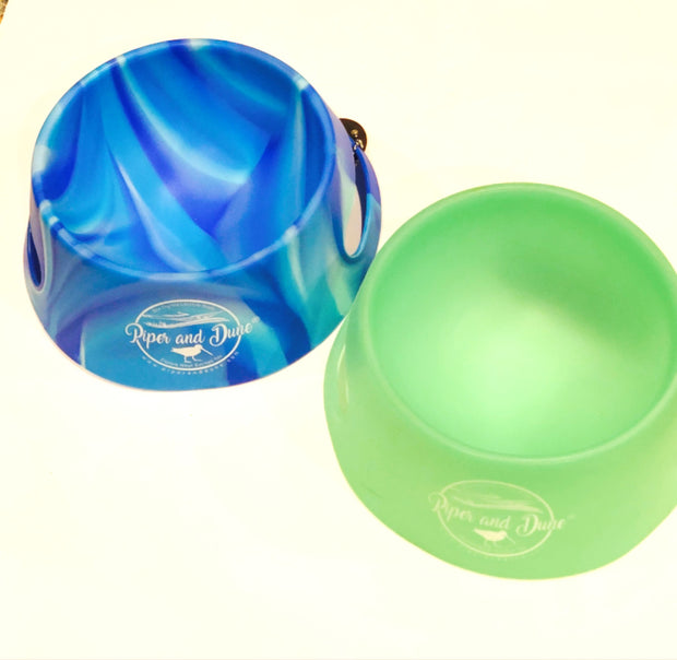 Unbreakable and Foldable Silicone Dog Bowl - 2 Colors!