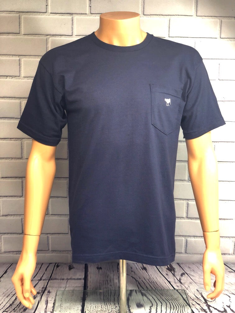 Piper and Dune Navy Blue Short Sleeve T-Shirt with Pocket