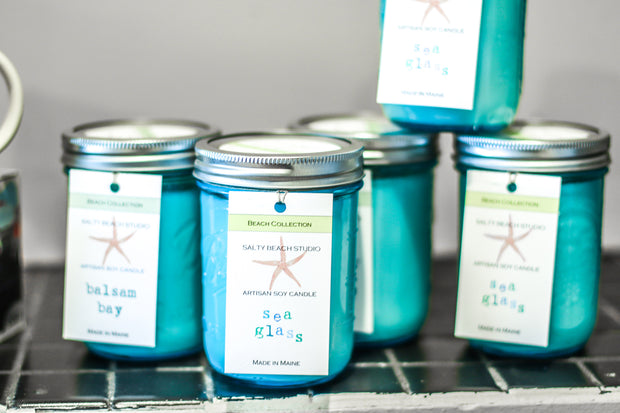 Beach Collection Hand-Poured Soy Candles