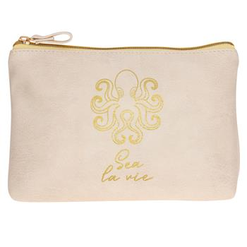 Wanderlust Cosmetic Bags with Inspirational Messages - piper-and-dune -