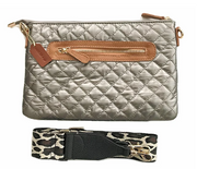 The Quilted Crossbody | Luken + Co. - 2 Colors