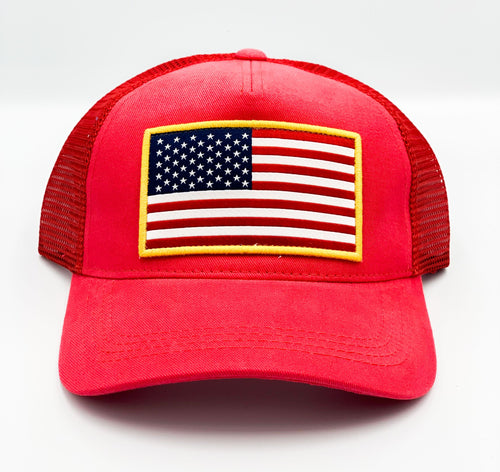 USA Trucker Hat by ShepGear - Unisex - piper-and-dune - Accessories