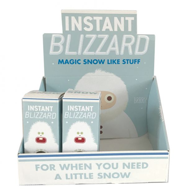 Instant Blizzard - Make Snow-Like Stuff!