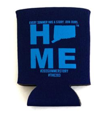 Connecticut Home Koozies - 3 Color Options
