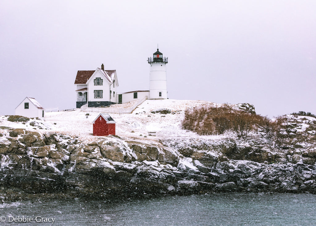 Snowy Nubble Print - piper-and-dune - Home Goods