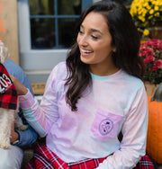Women's East Coast Tie Dye Long Sleeve by The Two Oh Three