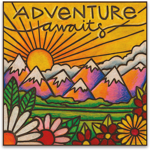 Adventure Awaits - Magnet - piper-and-dune - Home Goods