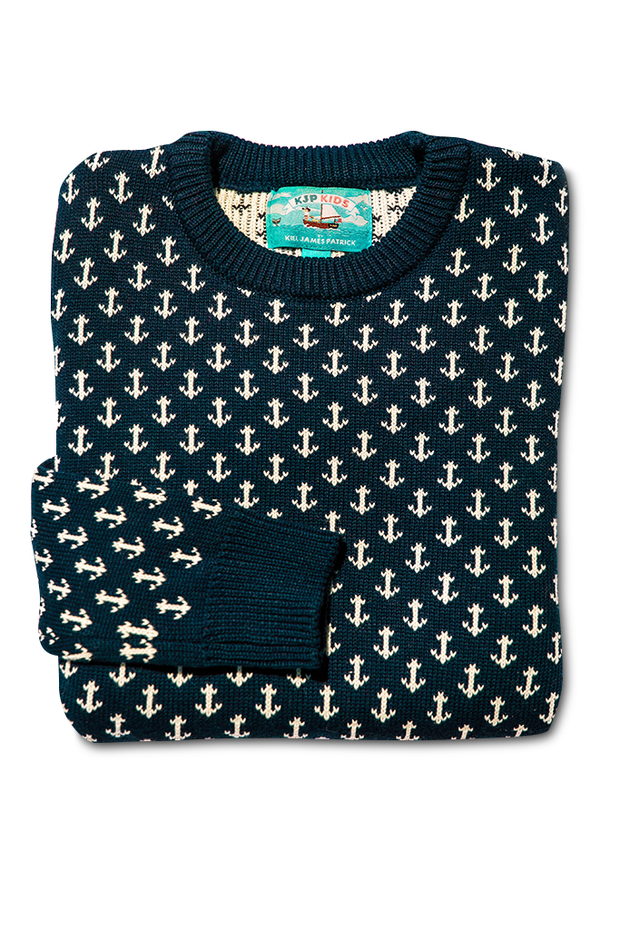 The Original Anchor Kids Sweater - piper-and-dune - Baby + Kids
