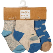 Under The Sea - Baby Sock Set - piper-and-dune - Kids Accessories