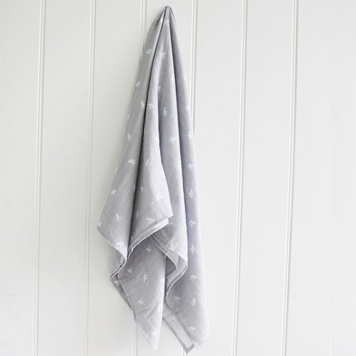 Baby Swaddle - Deer Grey - piper-and-dune - Baby + Kids