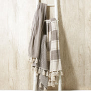 Terra Throw with Tassels - 3 Designs - piper-and-dune - Home Goods