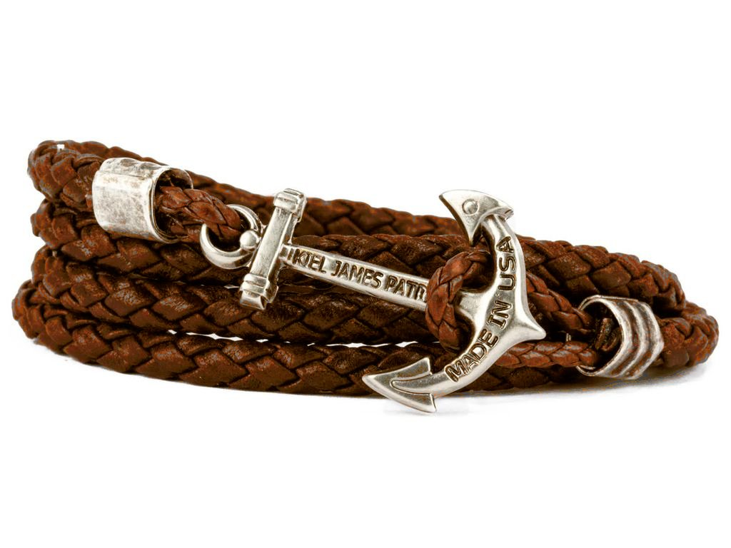 Ocean Aged Whiskey Leather Bracelet - piper-and-dune - Jewelry
