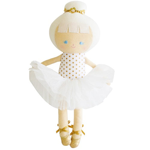 Baby Ballerina Gold Spot - piper-and-dune - Baby + Kids