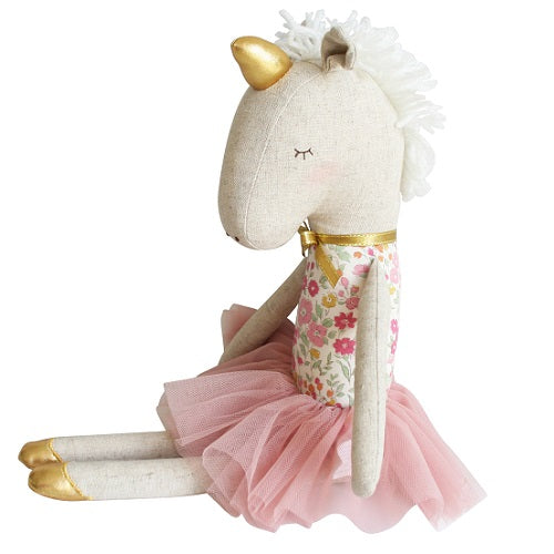 Yvette Unicorn Doll Rose Garden - piper-and-dune - Baby + Kids