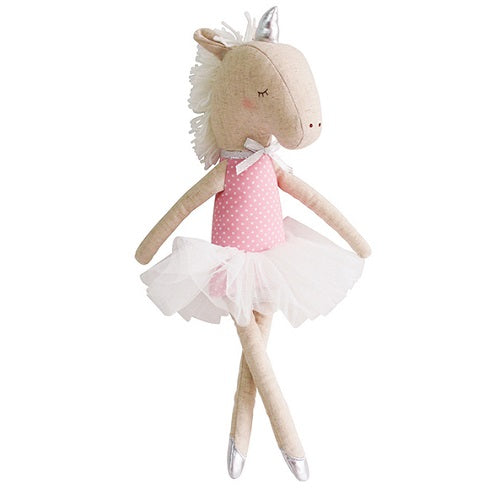 Yvette Unicorn Doll Pink & Silver - piper-and-dune - Baby + Kids